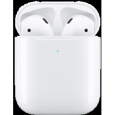 Apple AirPods 2 поколения с поддержкой беспроводной зарядки