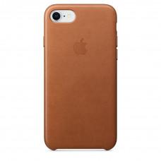 Apple Leather Case iPhone 8/7 золотисто-коричневый
