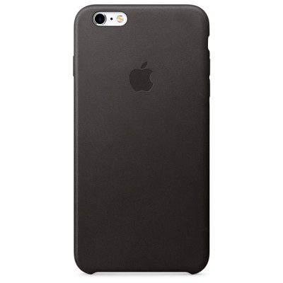 Apple Leather Case iPhone 6 plus / 6s plus черный