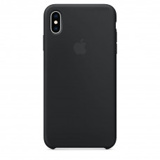 Silicone Case iPhone XS Max черный