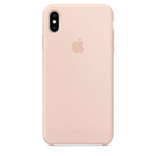 iPhone XS Max Silicone Case розовый