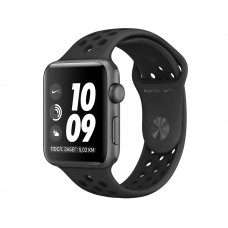 Apple Watch Series 3 Nike+ 42mm Space Gray Case, Anthracite/Black Nike Band - Корпус 42 мм из алюминия серый космос, ремешок Nike «антрацитовый/чёрный»