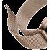 Миланский сетчатый браслет 40 мм золотой