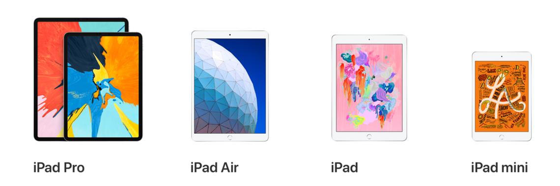 Новые iPad 2019
