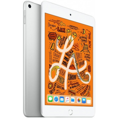 iPad mini 2019 Wi-Fi + Cellular 64ГБ, silver (серебристый)