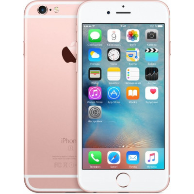 iPhone 6S 16Gb Rose Gold - Apple Certified Pre-Owned (как новый)