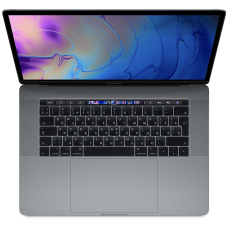 MacBook Pro 15 (2019) Retina Touch Bar 2,6 GHz, 16GB, 256GB Space Gray MV902