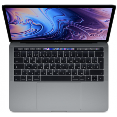 MacBook Pro 13 (2019) Retina Touch Bar 1,4 GHz, 8GB, 256GB Space Gray MUHP2