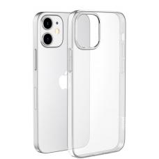 Чехол HOCO iPhone 12 силиконовый, прозрачный