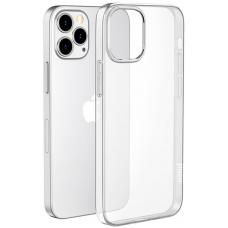 Чехол HOCO iPhone 12 Pro Max силиконовый, прозрачный