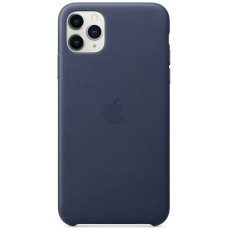 Apple Leather Case iPhone 11 Pro Max Blue