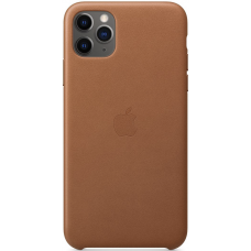 Apple Leather Case iPhone 11 Pro Max Saddle Brown
