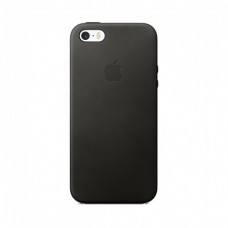 Apple Leather Case iPhone 5s / SE черный