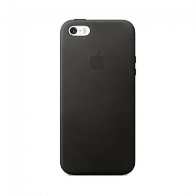 Apple Leather Case iPhone 5s / SE черный