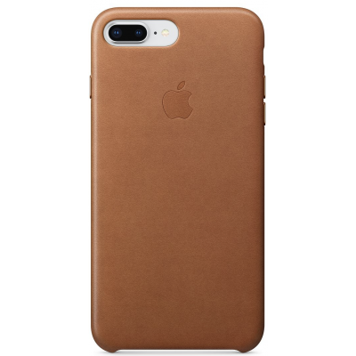 Apple Leather Case iPhone 7 / 8 Plus Saddle Brown