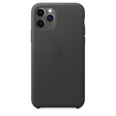 Apple Leather Case iPhone 11 Pro Black