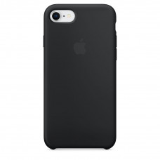 Silicone Case iPhone 7 / 8 Black