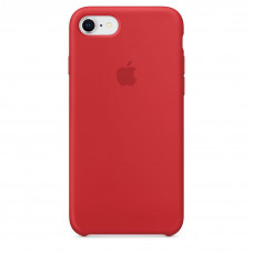 Silicone Case iPhone 7 / 8 (PRODUCT) RED