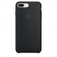 Silicone Case iPhone 7 / 8 Plus Black