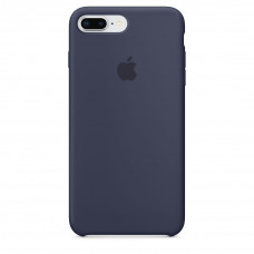 Silicone Case iPhone 7 / 8 Plus Midnight Blue