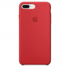Silicone Case iPhone 7 / 8 Plus (PRODUCT) RED