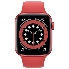 Apple Watch Series 6 40mm Red Aluminum Case with Sport Band