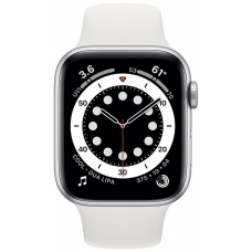 Apple Watch Series 6 40mm Silver Aluminum Case with Sport Band