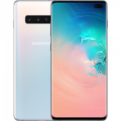 Samsung Galaxy S10+ 128Gb Prism White (белый перламутр)