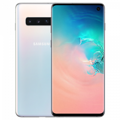 Samsung Galaxy S10 128Gb Prism White (белый перламутр)