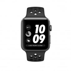 Apple Watch Series 3 Nike+ 38mm Space Gray Case, Anthracite/Black Nike Band - Корпус 38 мм из алюминия серый космос, ремешок Nike «антрацитовый/чёрный»