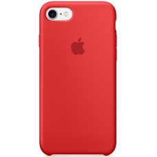 Silicone Case iPhone 7 / 8 (PRODUCT)RED