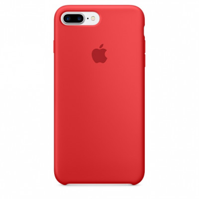 Silicone Case iPhone 7 / 8 Plus (PRODUCT)RED