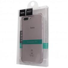 Чехол Hoco Light Series iPhone 7 plus / 8 plus силиконовый, прозрачный