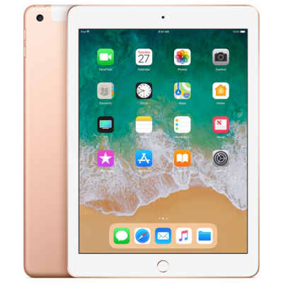 iPad 2018 128Gb Wi-Fi Cellular Gold