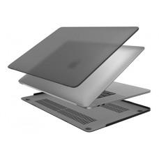 Чехол накладка для MacBook Air темный матовый