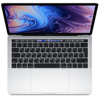 MacBook Pro 13 (2019) Retina Touch Bar 2,4 GHz, 8GB, 512GB Silver MV9A2