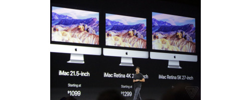 Презентация нового iMac