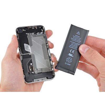 Замена аккумулятора iPhone 4 / 4S
