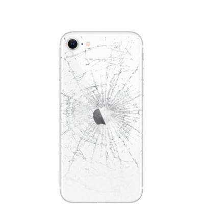 Ремонт iPhone 8 / SE замена стекла корпуса
